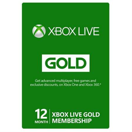 Microsoft Xbox Live Vision Camera - Microsoft Xbox LIVE 12 Month Gold Membership (Physical Card)