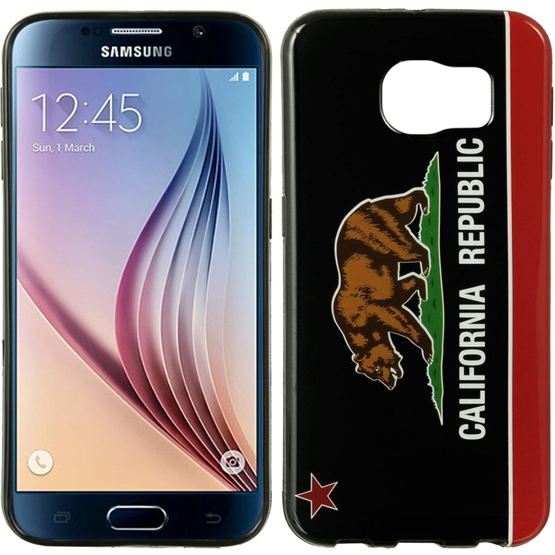 Samsung Galaxy S6 Black TPU Imd Case California