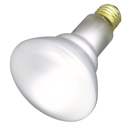 Satco S8520 65W 130V BR30 Frosted E26 Medium Base Incandescent bulb 130v Medium Screw Base