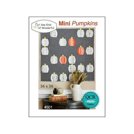 Sew Kind Of Wonderful Qcr Mini Pumpkins Ptrn