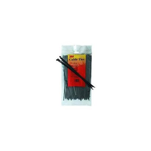 3M 11 Nylon Cable Ties Black 100-Pack PB11BK50C Multi-Colored