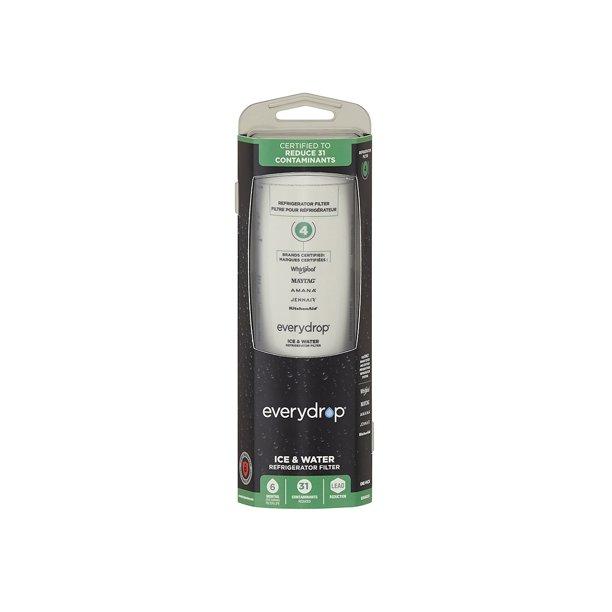 EveryDrop Refrigerator Water Filter 4 EDR4RXD1 - Walmart ...