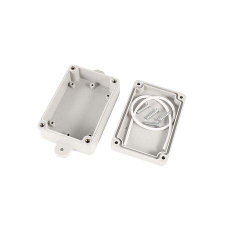 83mmx58mmx34mm Cable Connect Plastic Case Junction Box - image 1 de 2