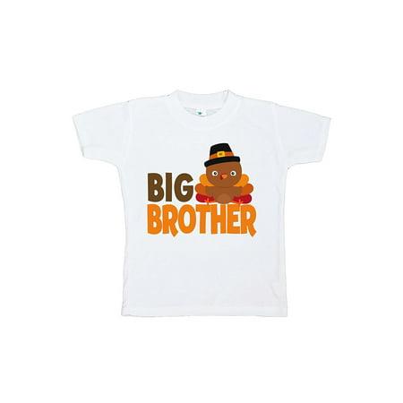 Custom Party Shop Baby Boy's Big Brother Thanksgiving Tshirt - Small (6-8) T-shirt - Buy Custom