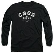 CBGB Classic Logo Mens Long Sleeve Shirt