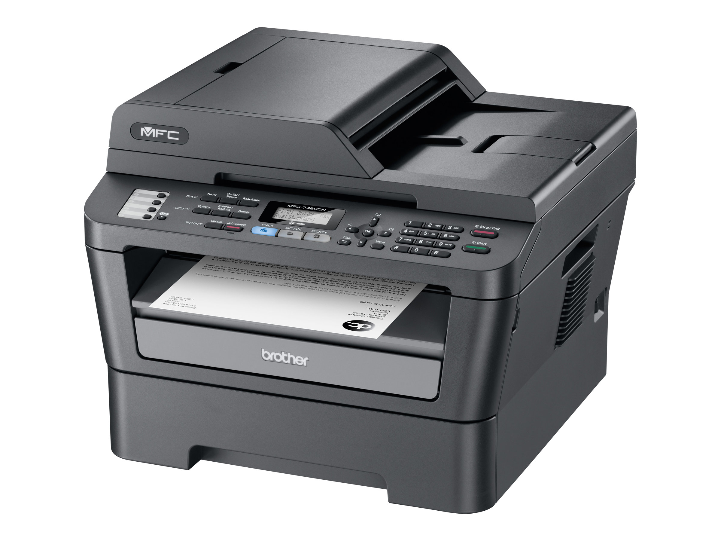 Brother MFC-7460DN multifunction printer ( B W ) by Brother