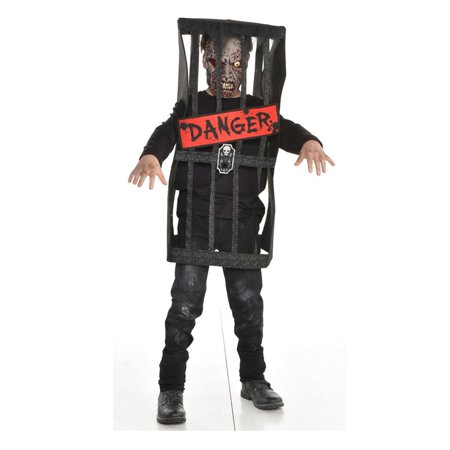 Cute Zombie Halloween Ideas (Halloween Child Caged Zombie)
