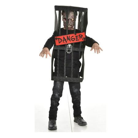 Halloween Child Caged Zombie Costume