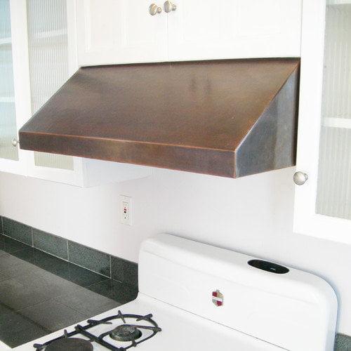 Copper under cabinet