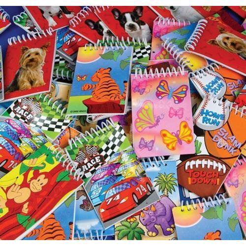 Rhode Island Novelty 3 Inch Spiral Notebook Assortment 72