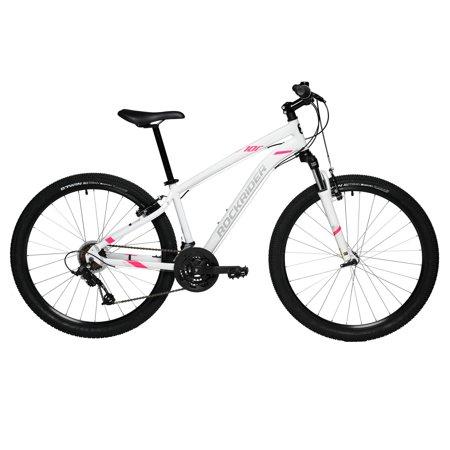 """Rockrider by DECATHLON - Mountain Bike ST 100 - M - 27.5"""" - White"""