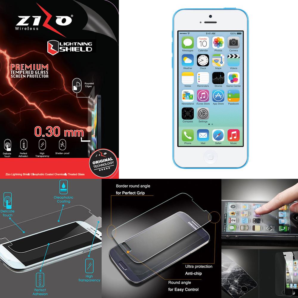 zizo lightning shield iphone 7 plustempered glass screen protector helpRakesh