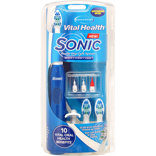 Brushpoint Vital Health Sonic Power Oral Care System