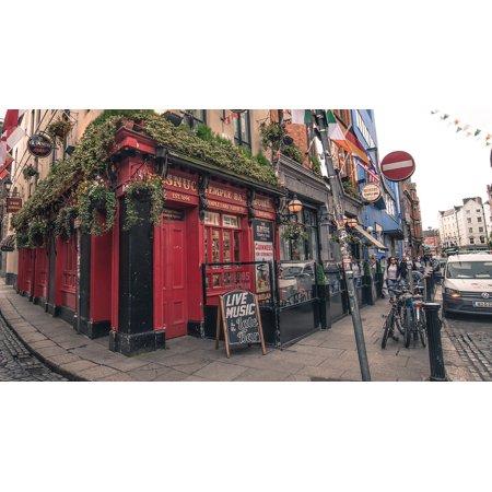 LAMINATED POSTER Bar Pub Beer Cafe Street Drink Ireland Dublin Poster Print 24 x 36 (Irish Drinking Poster)