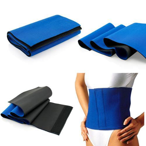 Waist Trimmer Sweat Fat Cellulite Burner Body Leg Slimming Shaper Exercise Wrap Belt