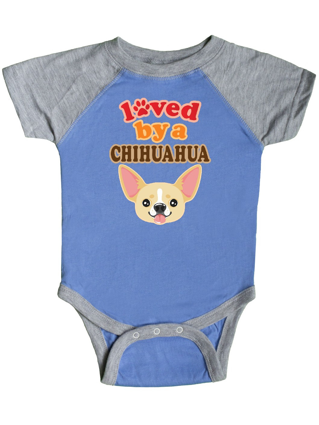 inktastic Worlds Best Chihuahua Mom Infant Creeper