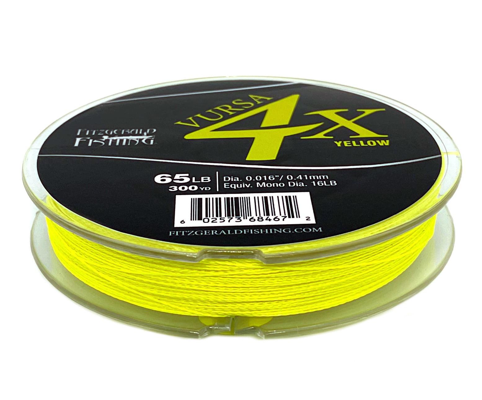 Rovex Viros Hi Vis Yellow Braid Fishing Line 300yds X 30 Lb