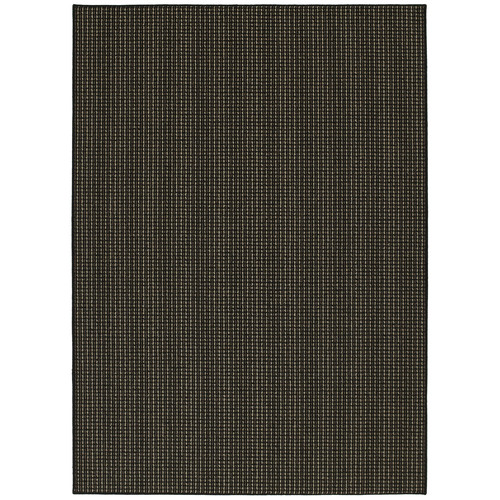 Garland Rug Black Berber Colorations Area Rug