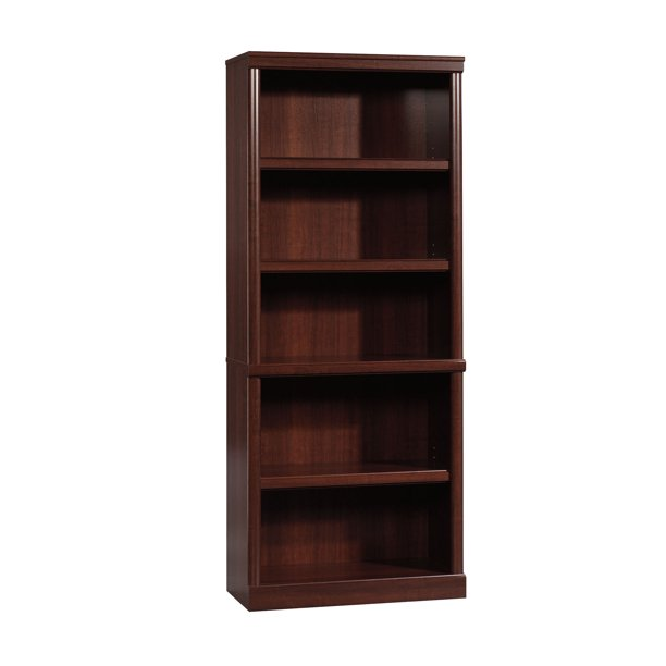 "Better Homes & Gardens 71"" Ashwood Road 5 Shelf Bookcase, Cherry"