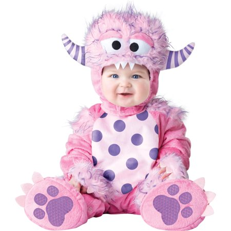 Infant Lil' Pink Monster Costume by Incharacter Costumes LLC 6068 - Lil Monster Costume
