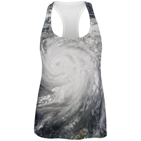 Halloween Gulf Coast Hurricane Costume All Over Womens Work Out Tank Top