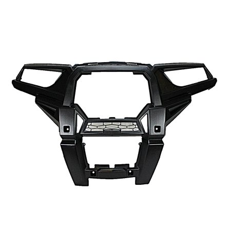 Front Fascia Extension (Genuine OEM Fascia Front Bumper Headlight Grill Frame Cover for 2015 Polaris RZR XP 1000 5439786-070)