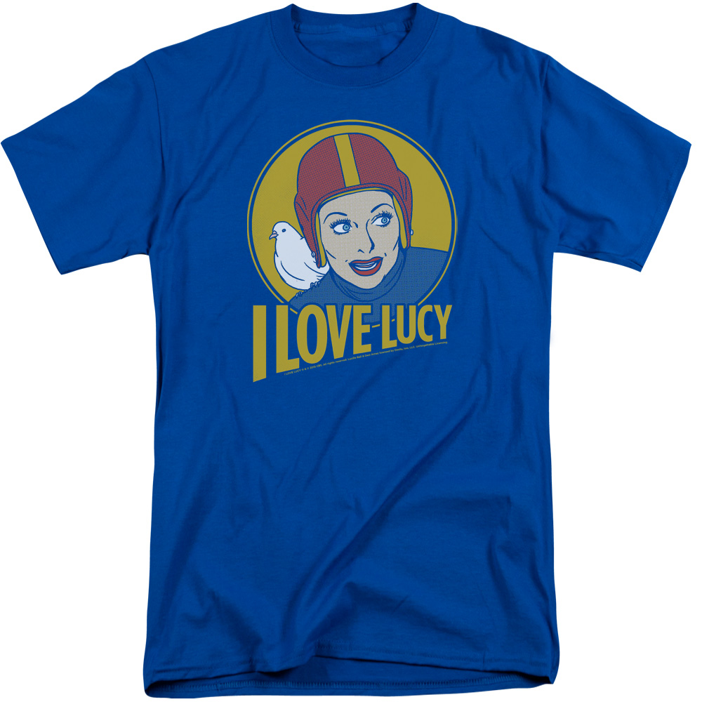 Lucy Lb Super Comic Mens Big and Tall Shirt