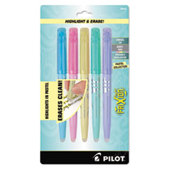 FriXion Light Pastel Collection Erasable Highlighters, Assorted,