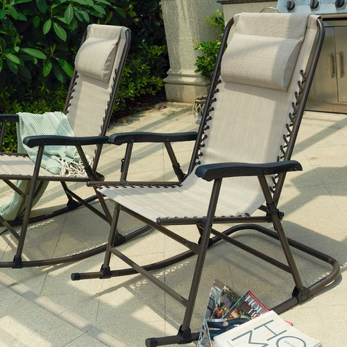 Freeport Park Staton Rocking Chair (Set of 2)
