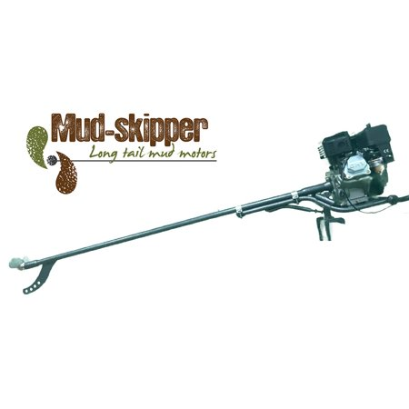 Mud-Skipper 5hp to 7hp Long Tail Kit Mud Motor - Fits to your own engine (Tail Motor Assembly)