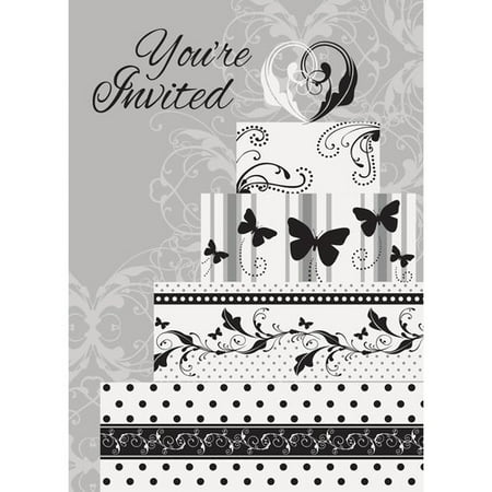 (Victorian Wedding Invitations, 8-Count)