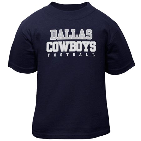 Baby Girl Dallas Cowboys (Dallas Cowboys Toddler Practice T-Shirt - Navy)
