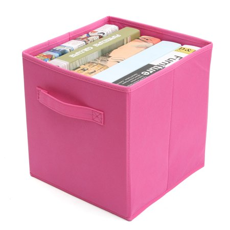 Portable Clothes Blanket Large Folding Bag Toy Storage Box Organizer Non-woven  - image 6 de 11