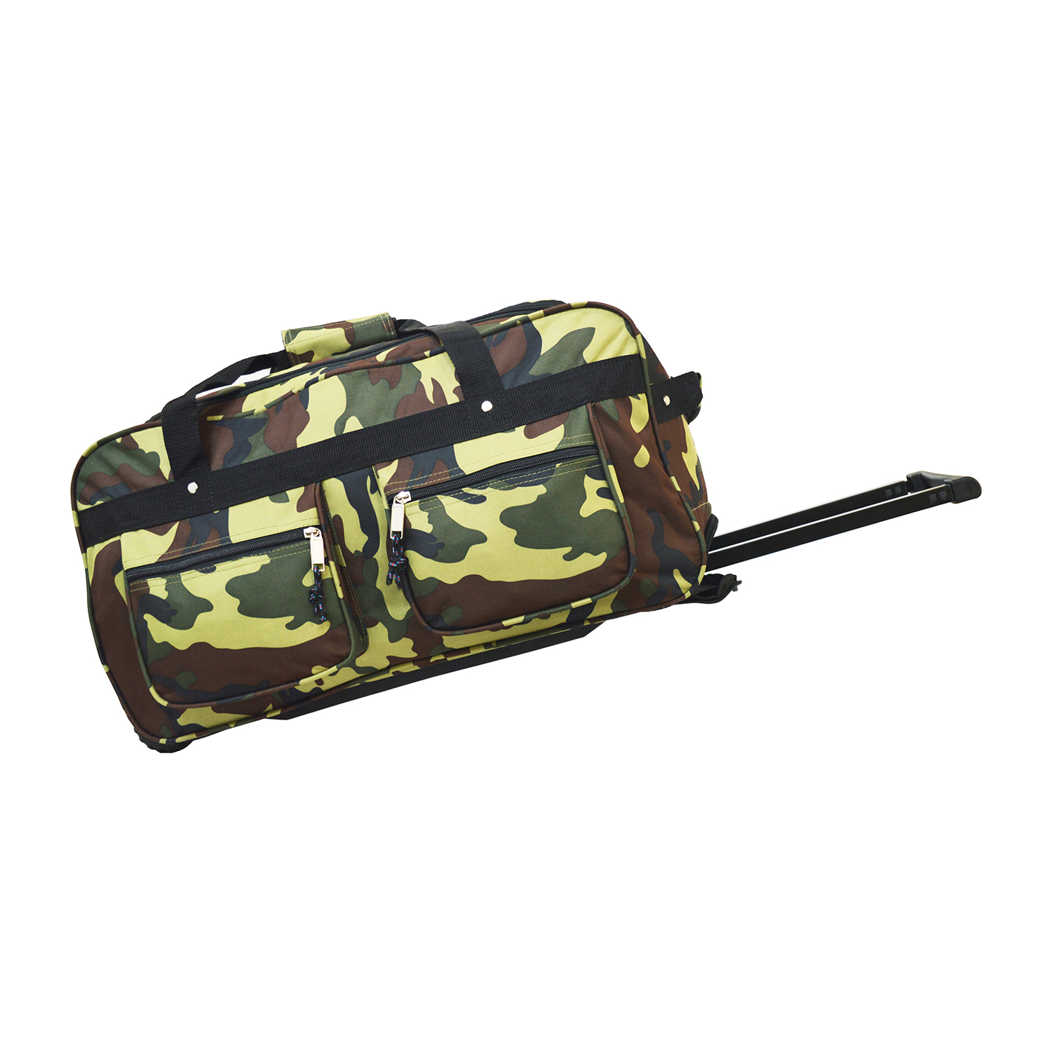 Every Day Carry Large Capacity Heavy Duty Rolling Duffel Bag