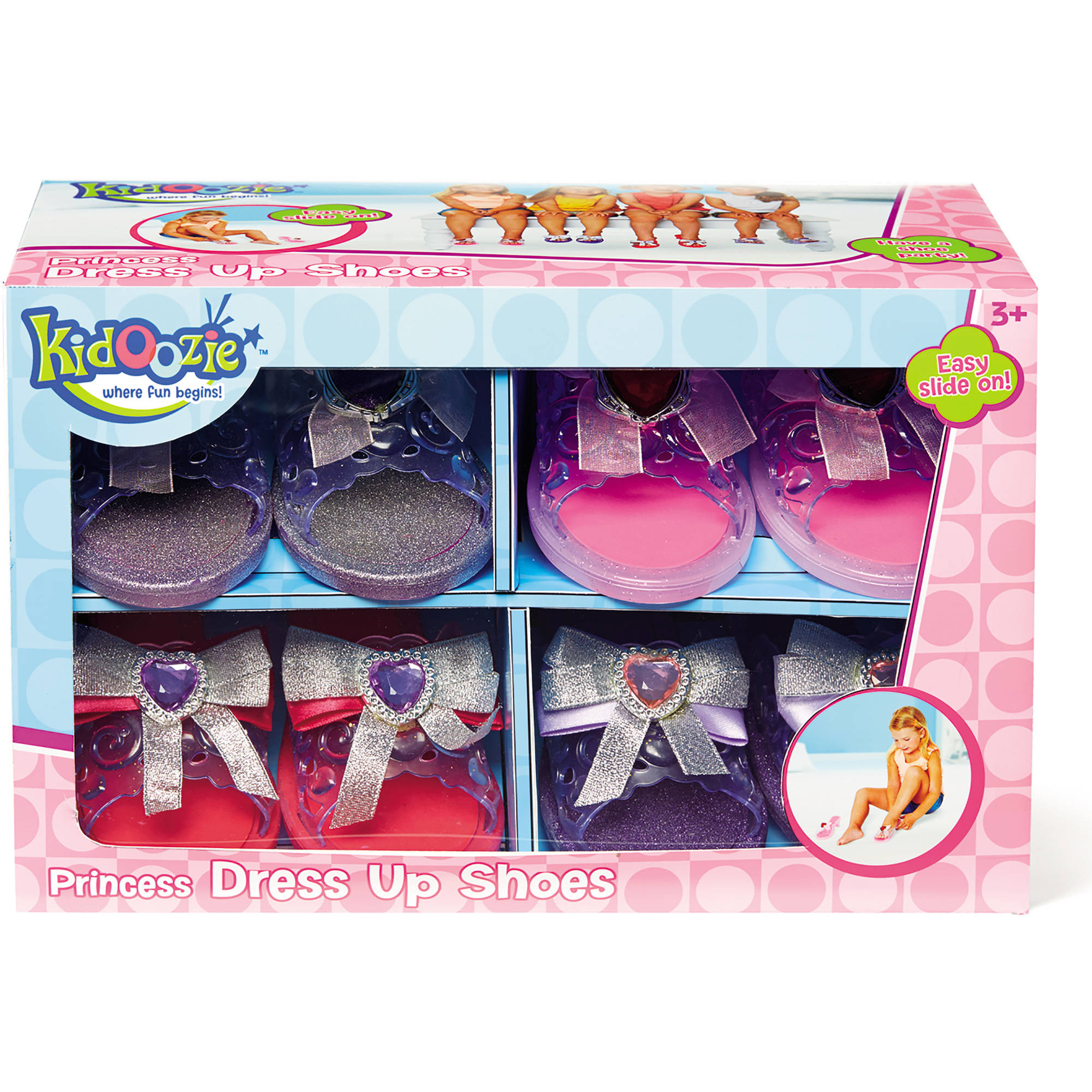 Kidoozie Princess Dress Up Shoes by International Playthings, LLC