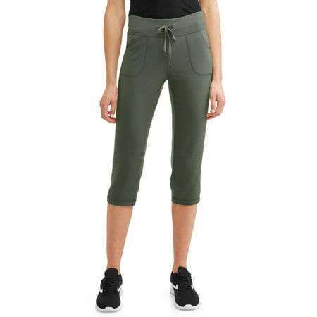 Athletic Works Women's Athleisure Core Knit Capri - Womens Capes