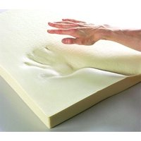 """Upholstery Visco Memory Foam Square Sheet- 1/2""""Hx22W""""x22L""""- 2.5 lb Regular Density- Luxury Quality- For Sofa, Chair Cushions, Pillows, Doctor Recomended for Backache & Bed Sores- Dream Solutions USA"""