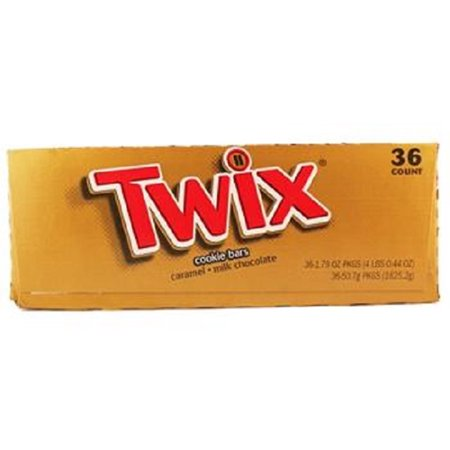 Product Of Twix, Caramel, Count 36 (1.79 oz) - Chocolate Candy / Grab Varieties & Flavors ()