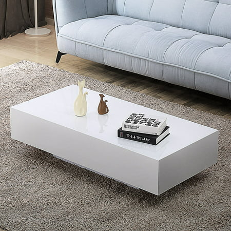 29d36cf535c01 High Gloss White Coffee Tables - Table Design Ideas