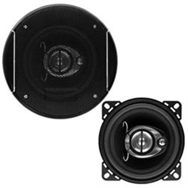 4 in. 3 Way Sound Storm Series Full-Range Speakers, 200W - image 1 of 1