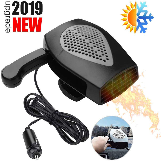 Fast Heating Defogger Defogger Auto Heater Fan 12V Portable Car Heater,Auto Heater Fan,Car Defogger Plug in Cig Lighter for Windshield