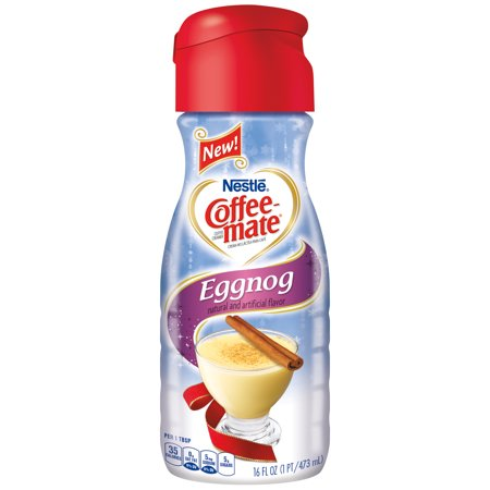 Coffee Mate Eggnog Liquid Coffee Creamer 16 Fl Oz Bottle