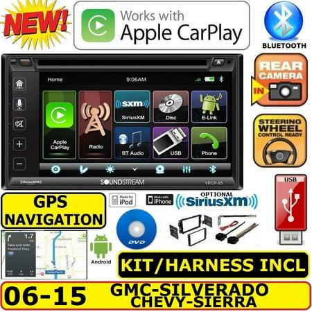 GM 2006-2015 GPS NAVIGATION SYSTEM BLUETOOTH CD DVD USB CAR RADIO STEREO