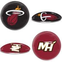 Miami Heat WinCraft 2-Pack Sports Dot Fridge Magnets