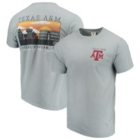 Texas A&M Aggies Comfort Colors Campus Scenery T-Shirt - Gray