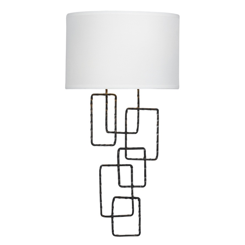 Crystorama 322-RS Two Light Wall Sconce by Crystorama