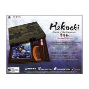 Hakuoki: Stories of the Shinsengumi Collectors Edition, Aksys Games, PlayStation 3, 893610001846