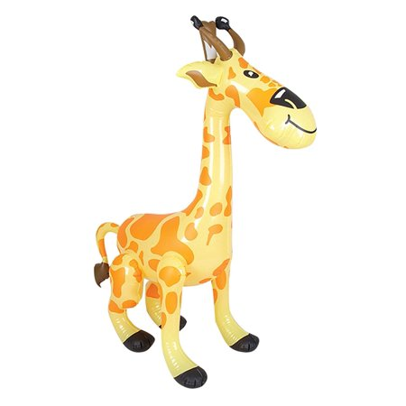 Inflatable Giraffe Asst., Show your wild side with this awesome inflatable animal. Includes (1) Inflatable Giraffe, asst. . By Rhode Island - Inflatable Novelties Wholesale