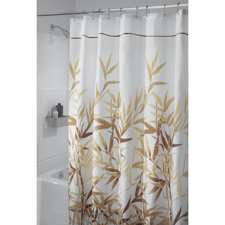 interdesign anzu fabric shower curtain long 72 x 84. Black Bedroom Furniture Sets. Home Design Ideas