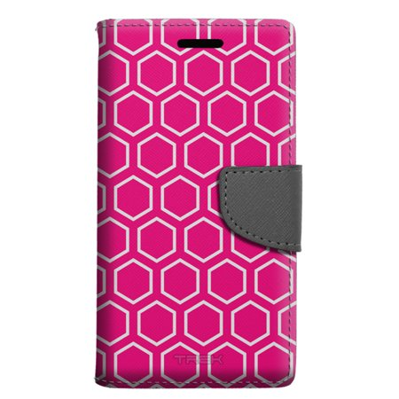 Samsung Galaxy Note 8 Wallet Case - Beehive Pink Case